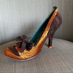 Irregular choice ModCloth heels pumps bow 7.5 shoe